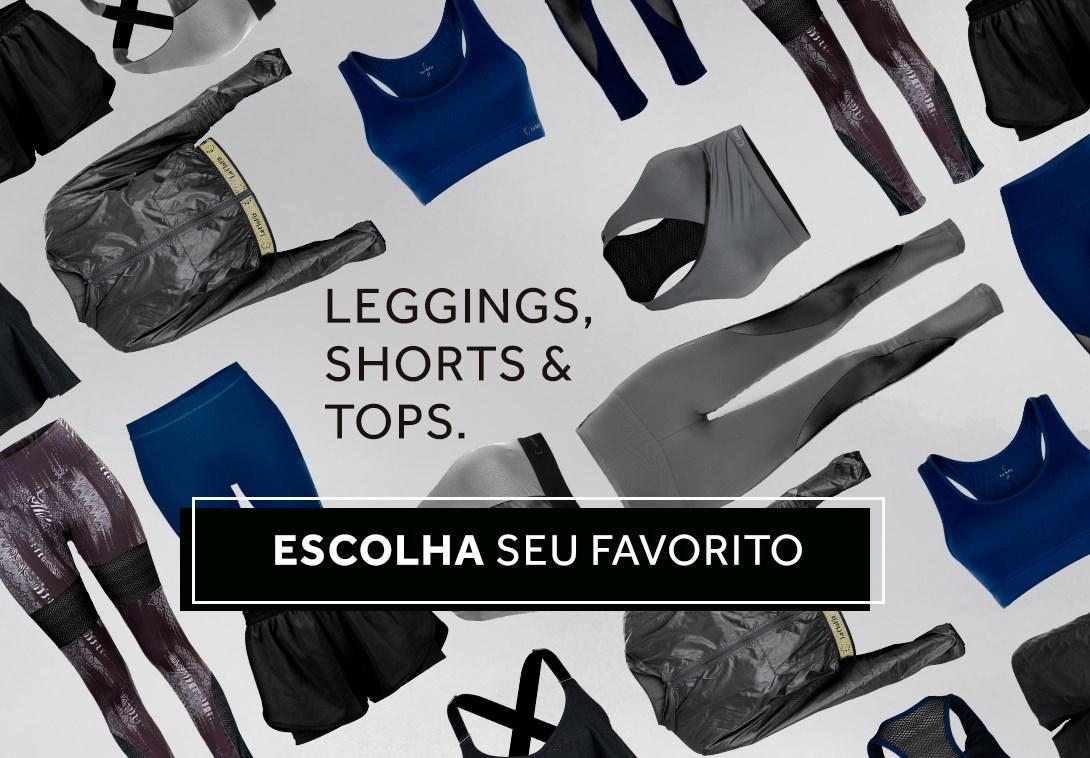 Leggings, Shorts & Tops